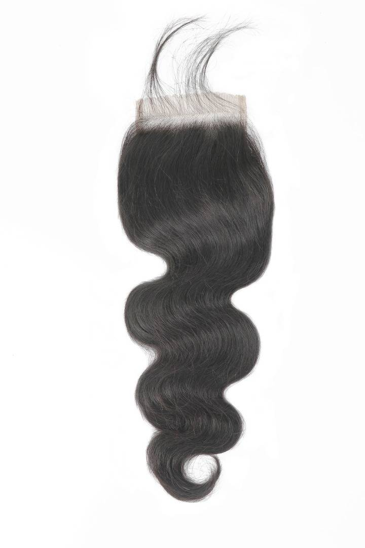 Bodywave closure virgin hair