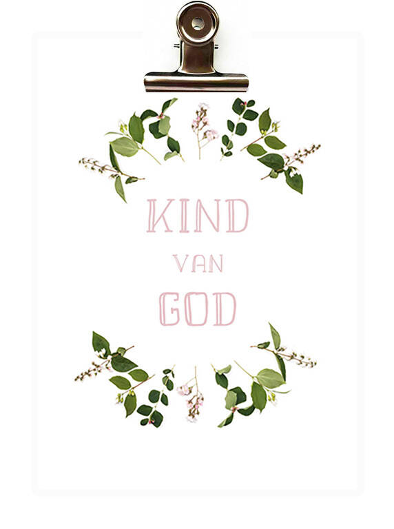 Poster kind van God