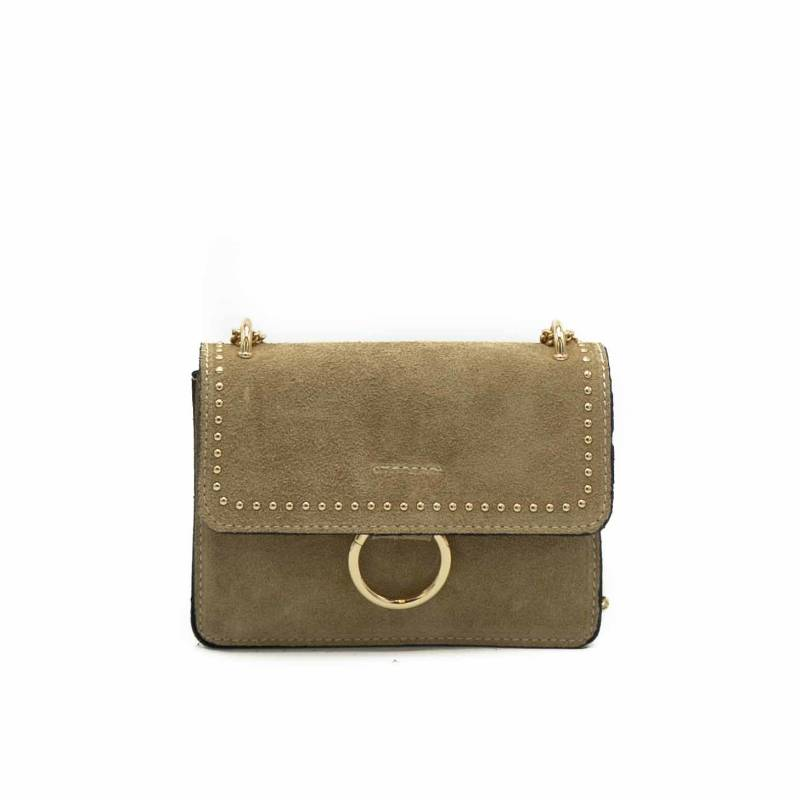 Crossbody bag Chain taupe