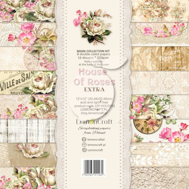 PAPER PACK HOUSE OF ROSES EXTRA