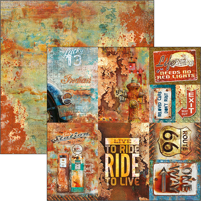 RUSTED CARDS