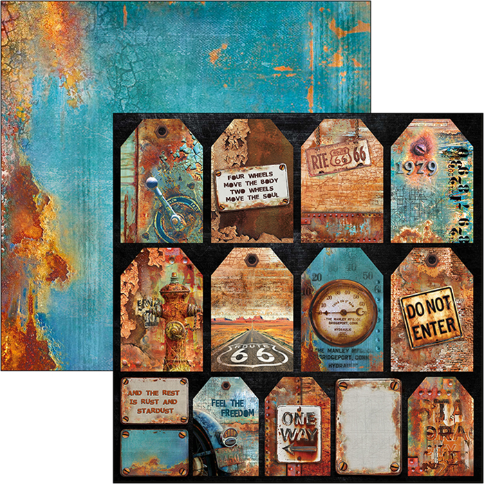RUSTED TAGS