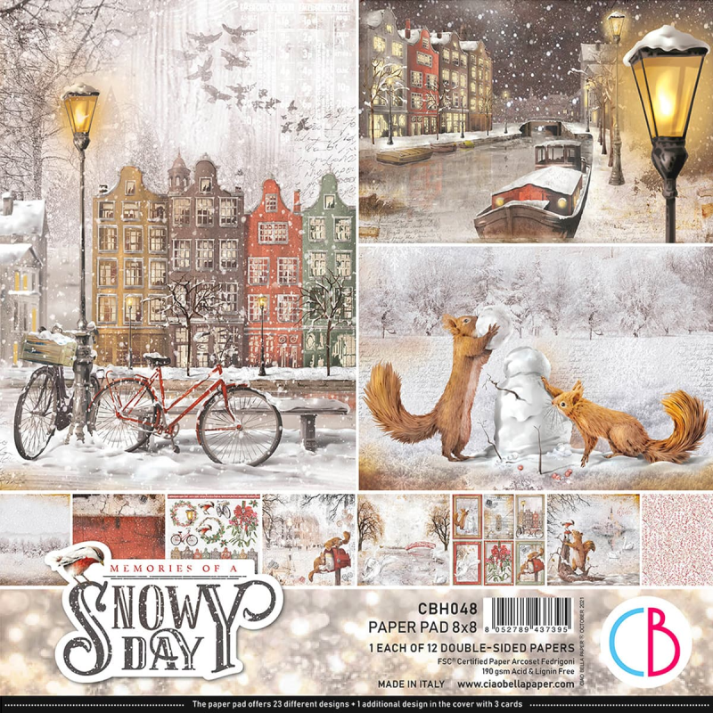 PAPERPAD MEMORIES OF A SNOWY DAY