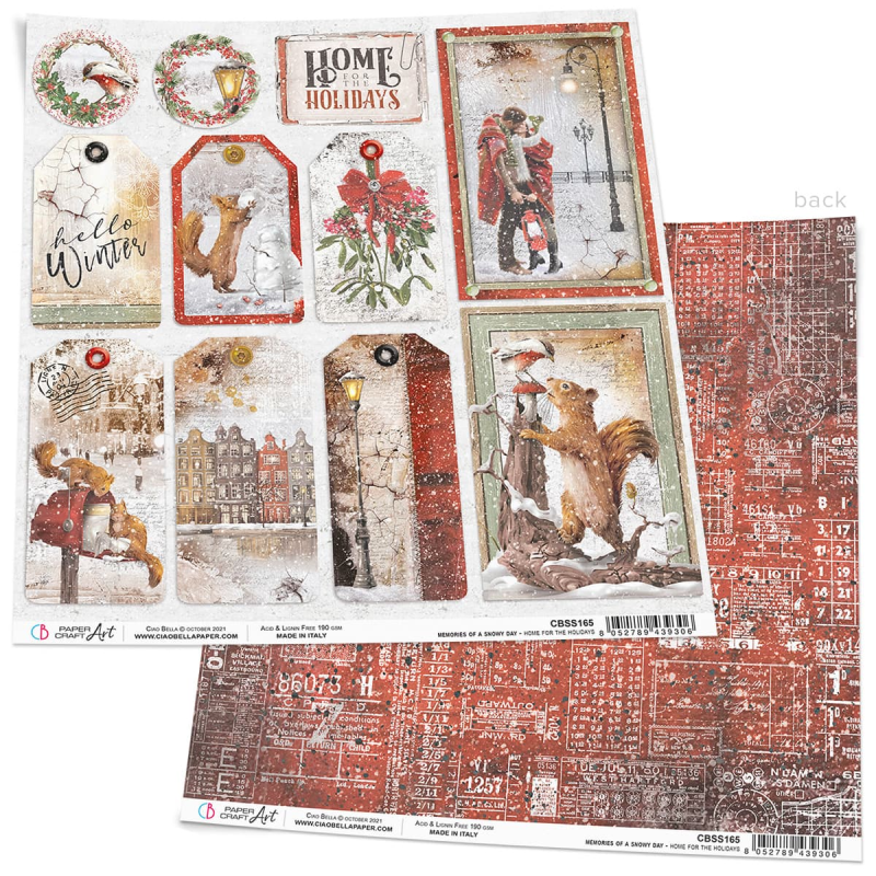 CARDS & TAGS MEMORIES OF A SNOWY DAY (Kopie)