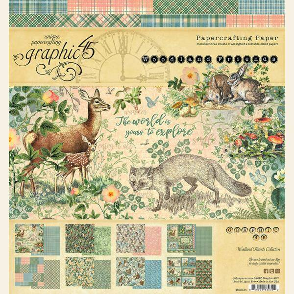 PAPERPACK WOODLAND FRIENDS