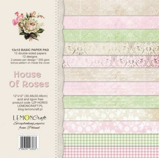 HOUSE OF ROSES, BASIS PAPIER