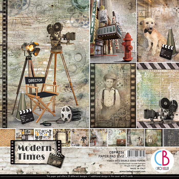 PAPERPAD MODERN TIMES