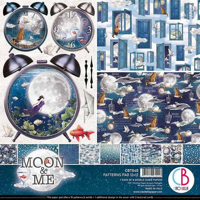 PATTERNS PAD MOON AND ME