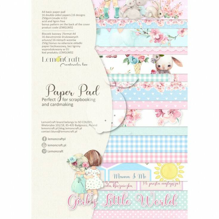 PAPERPAD GIRL'S LITTLE WORLD