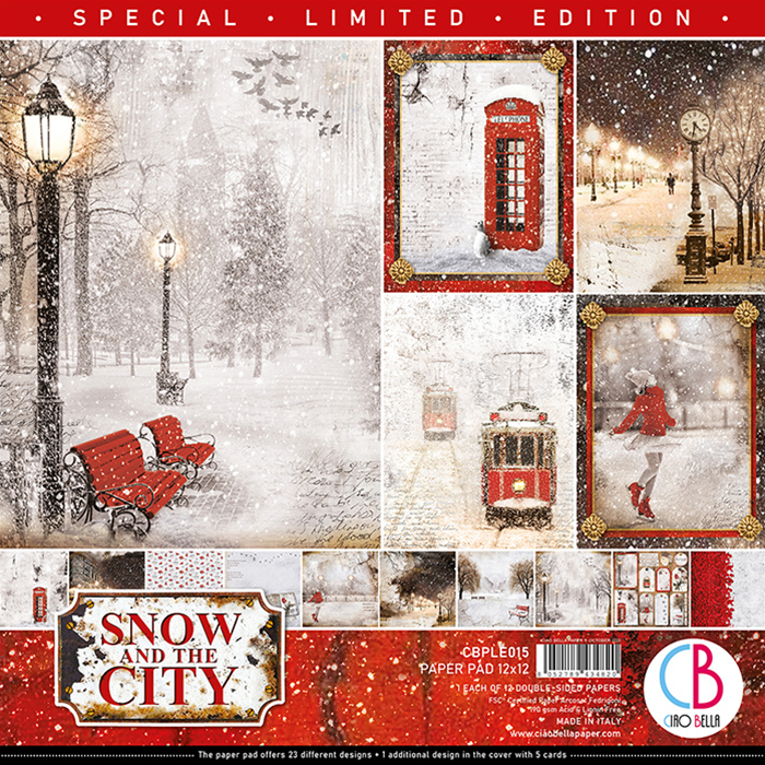 PAPERPAD SNOW IN THE CITY SPECIAL EDITION