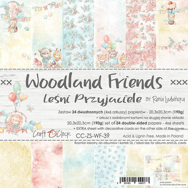 PAPERPAD WOODLAND FRIENDS