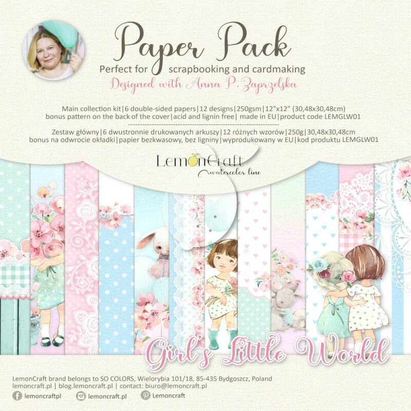PAPERPACK GIRL'S LITTLE WORLD