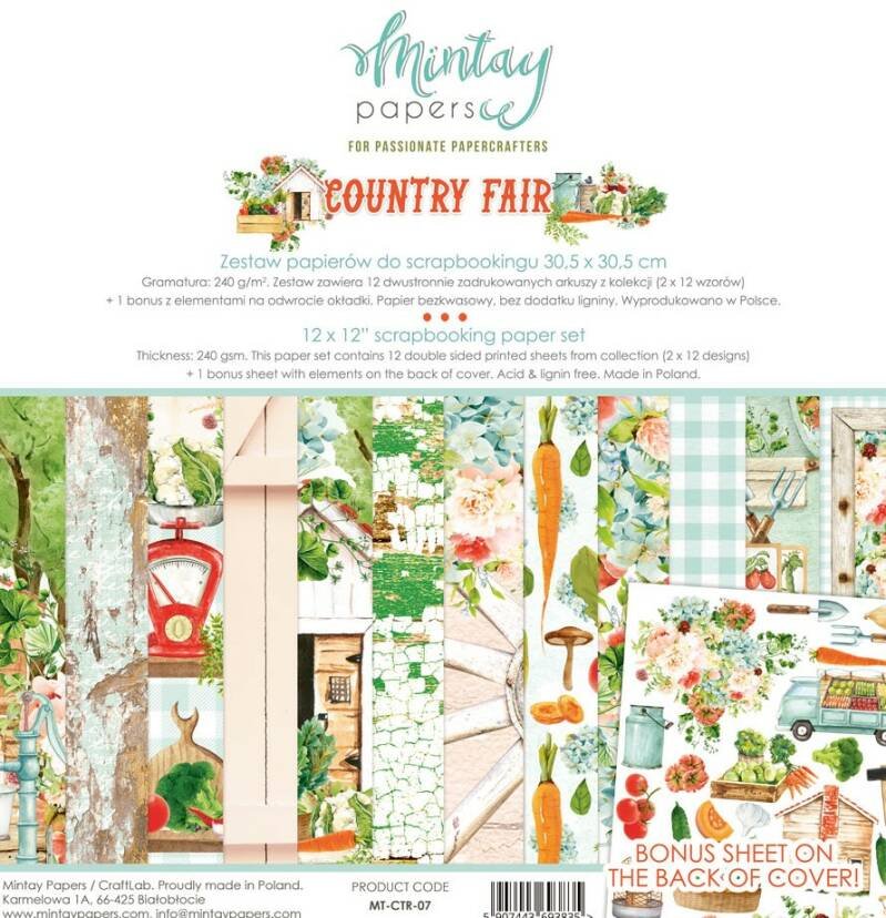 PAPERPACK COUNTRY FAIR