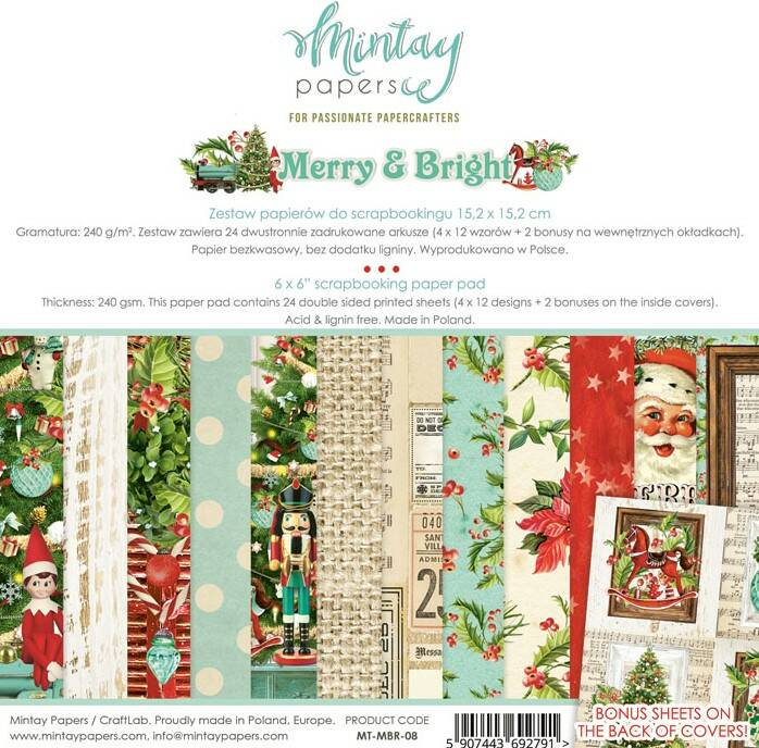 PAPERPAD MERRY & BRIGHT