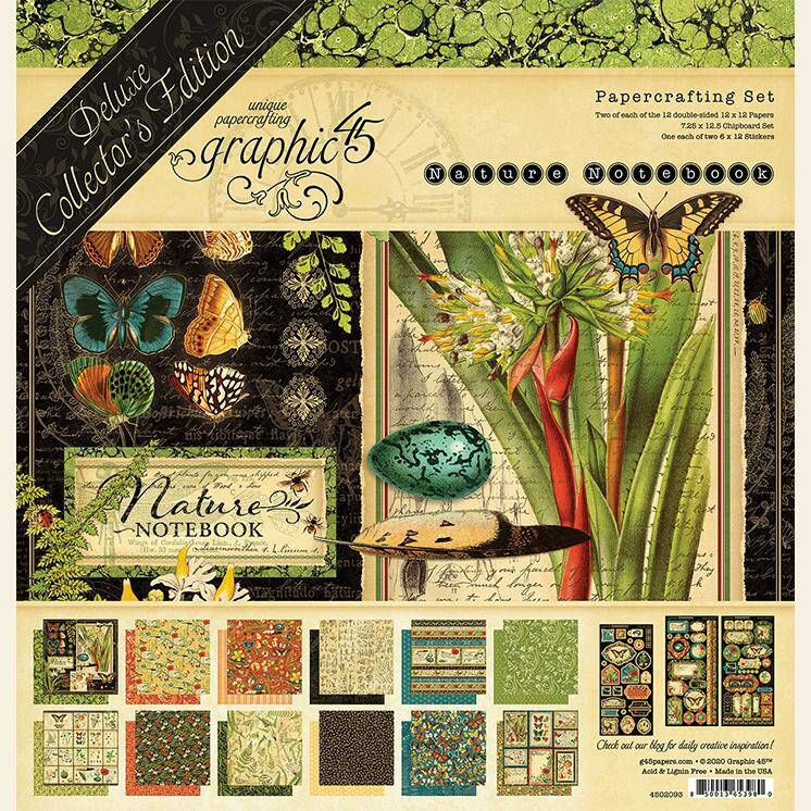 DELUXE LIMITED EDITION NATURES NOTEBOOK