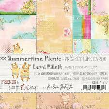 PROJECT LIFE CARDS  SUMMERTIME PICNIC