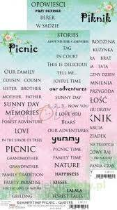 QUOTES  SUMMERTIME PICNIC