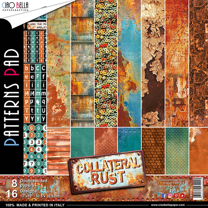 PATTERNS PAD COLLATERAL RUST