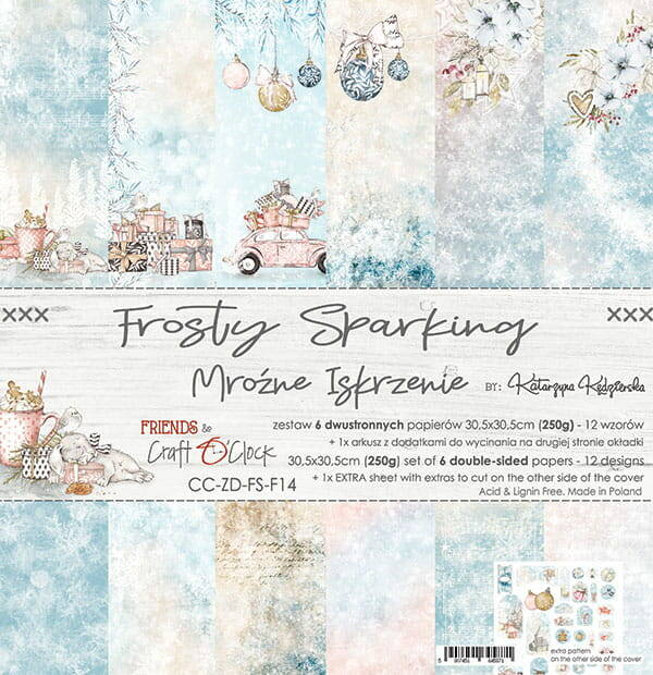 PAPERPACK FROSTY SPARKING