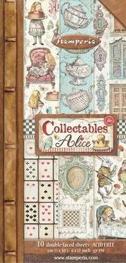 COLLECTABLES ALICE THROUGH THE LOOKING GLASS
