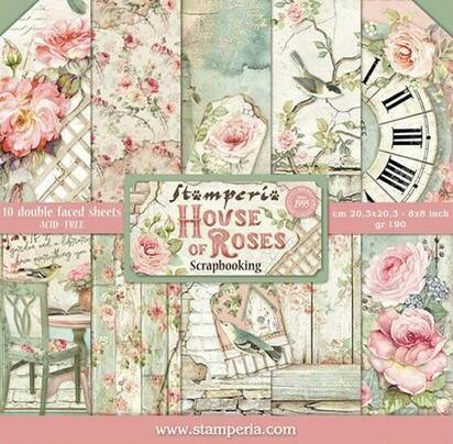 PAPER PAD HOUSE OF ROSES
