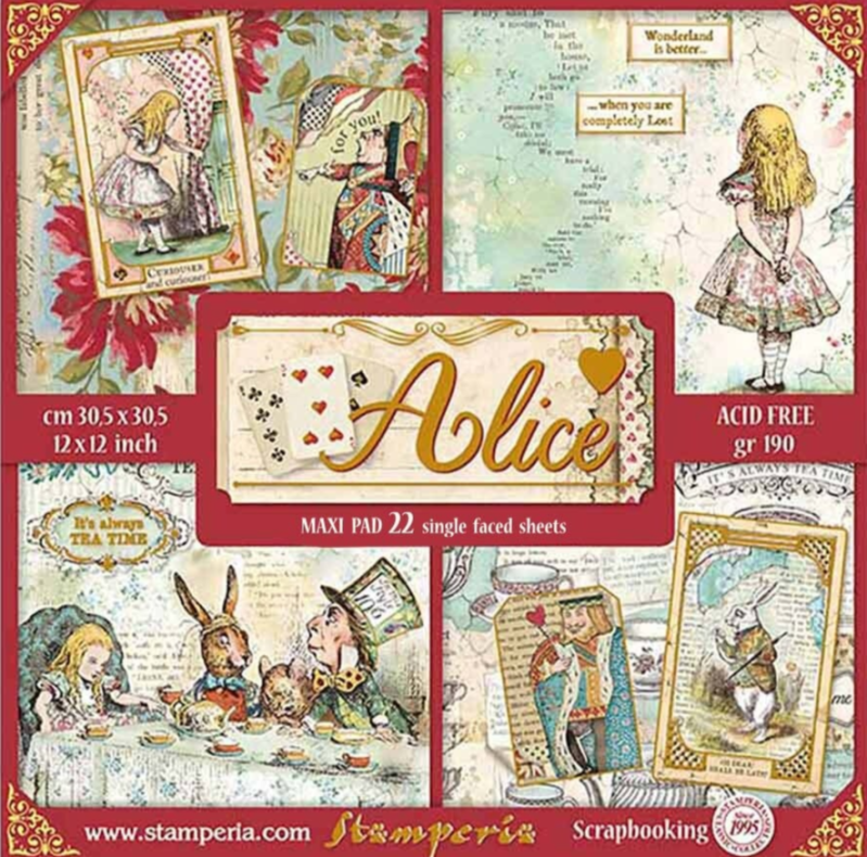 PAPERSET ALICE GOLD XL