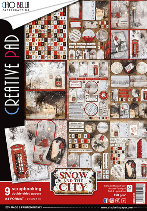 CREATIVE PAD SNOW IN THE CITY SPECIAL EDITION