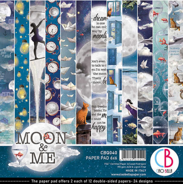 PAPERPAD MOON AND ME