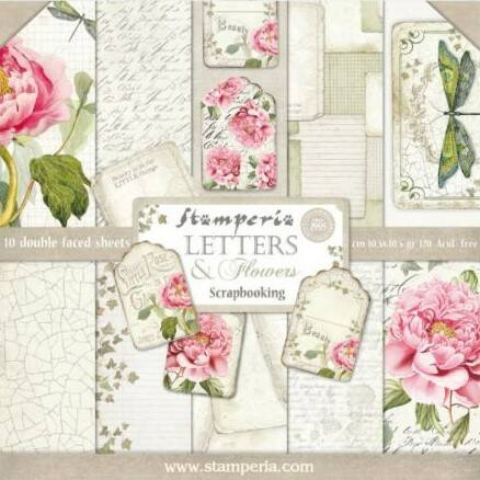 PAPER PAD LETTERS & FLOWERS