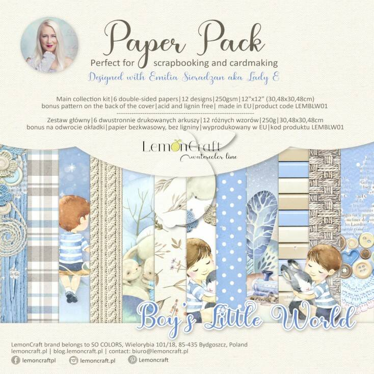 PAPERPACK BOY'S LITTLE WORLD