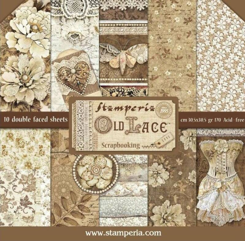 PAPER PAD OLD LACE