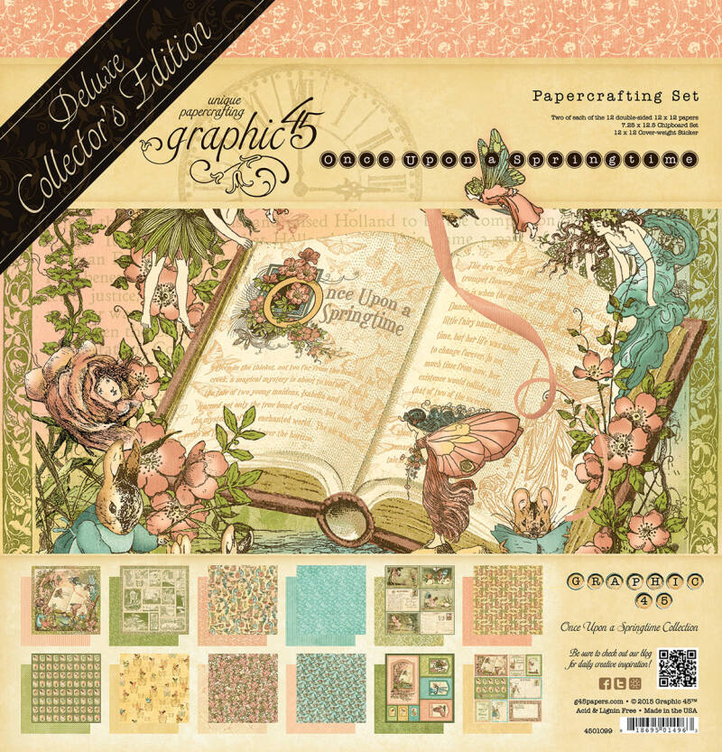 DELUXE COLLECTORS EDITION ONCE UPON A SPRINGTIME