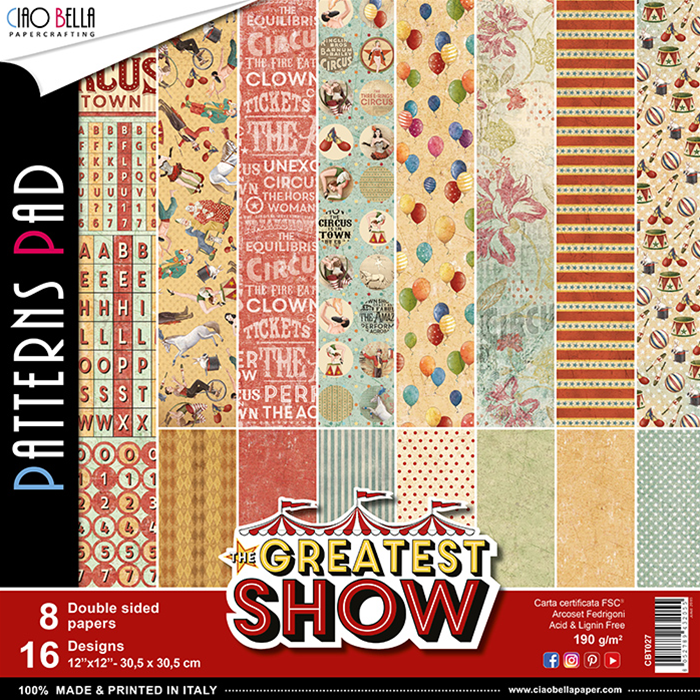 PATTERNS PAD GREATEST SHOW