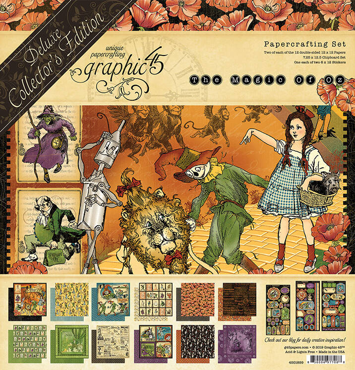 DELUXE COLLECTORS EDITION THE MAGIC OF OZ