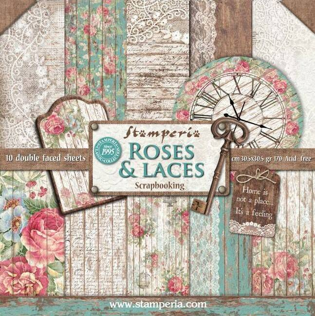 PAPERPAD ROSES & LACES
