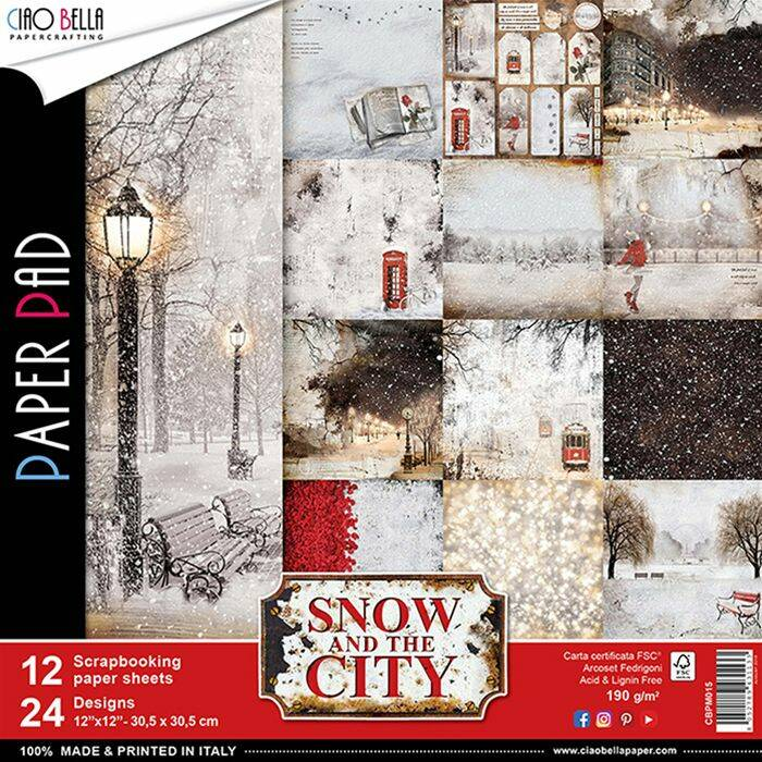 PAPER PAD SNOW AND THE CITY