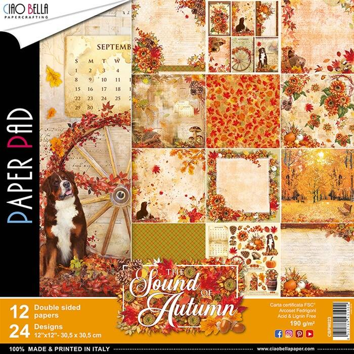 PAPER PAD THE SOUND OF AUTUMN