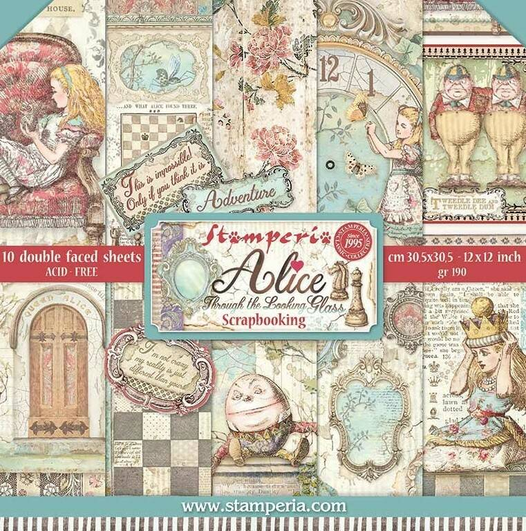PAPERPAD ALICE THROUGH THE LOOKING GLASS