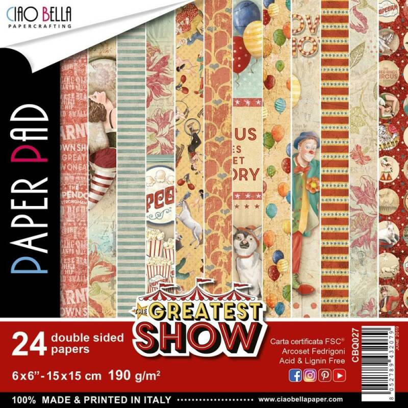 PAPER PAD THE GREATEST SHOW