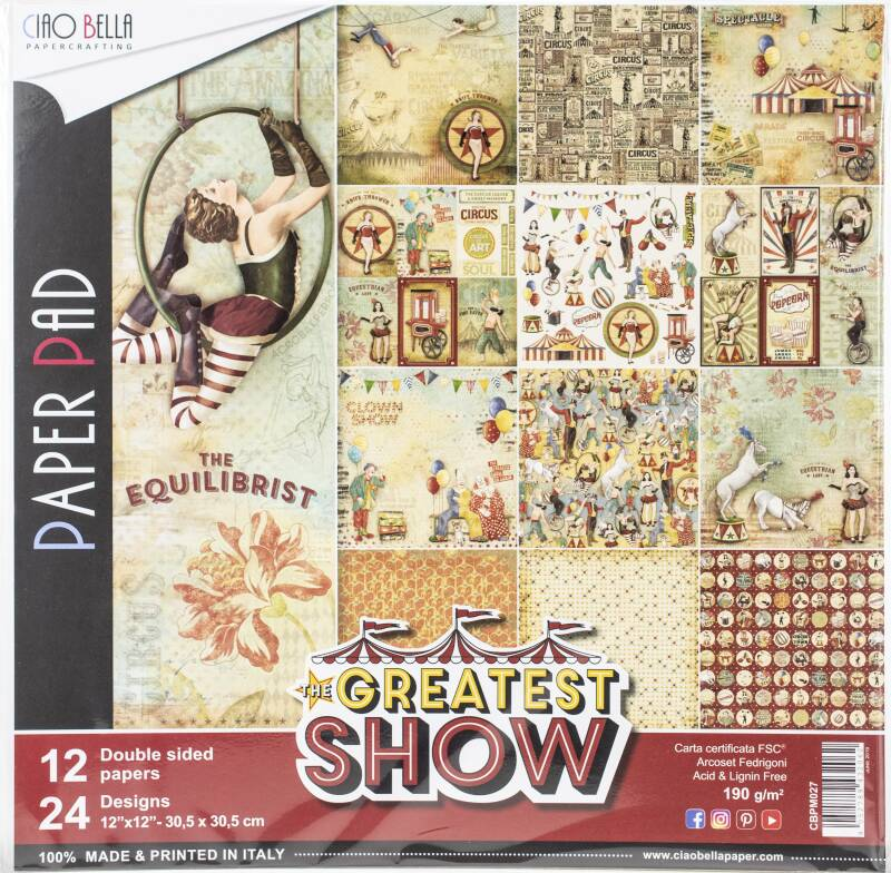 PAPER PAD GREATEST SHOW