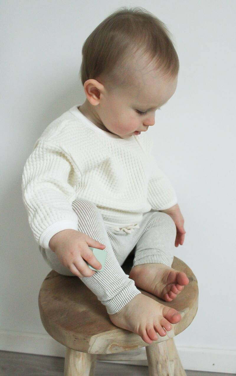 Knitted Sweater - Ivory