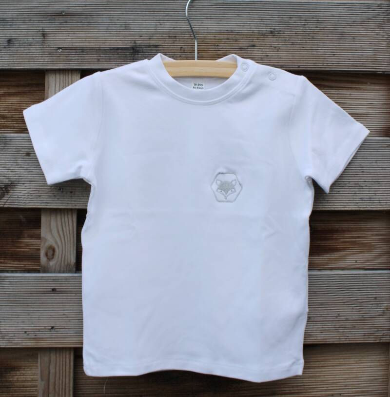 Comfy Shirt Little Foxies   White