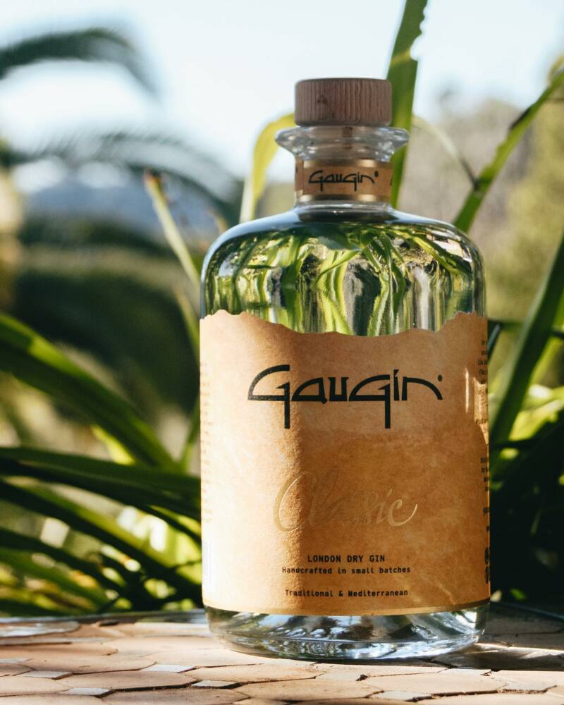"Gaugin Classic, London dry Gin ""Small Batch"" 500 ml - 46°"