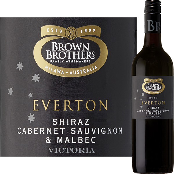 "Everton Red, ""Limited Release"" Brown Brothers, Australië"
