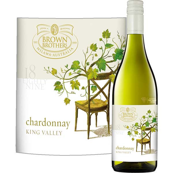 """Chardonnay """"1889"""", King Valley, Brown Brothers Australië"""