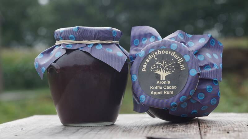 Aronia Koffie Cacao Appel Rum Confiture