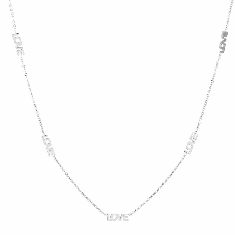 small love ketting ZILVER