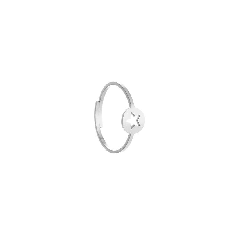 ster ring ZILVER