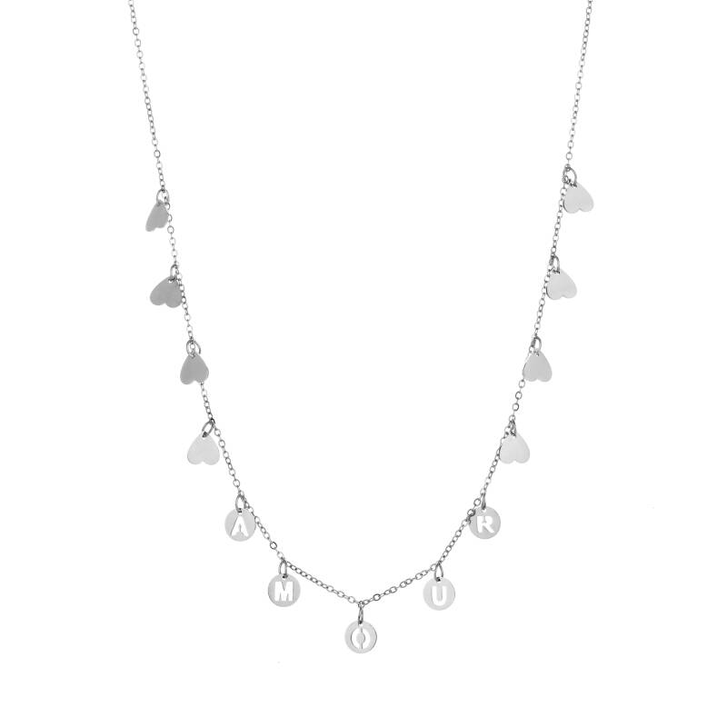 amour ketting ZILVER