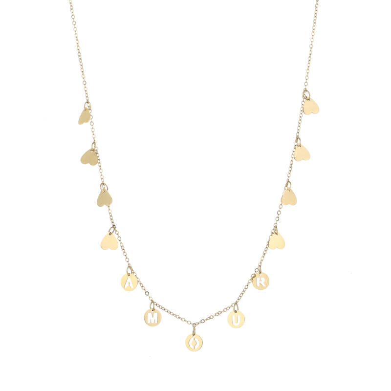amour ketting GOUD